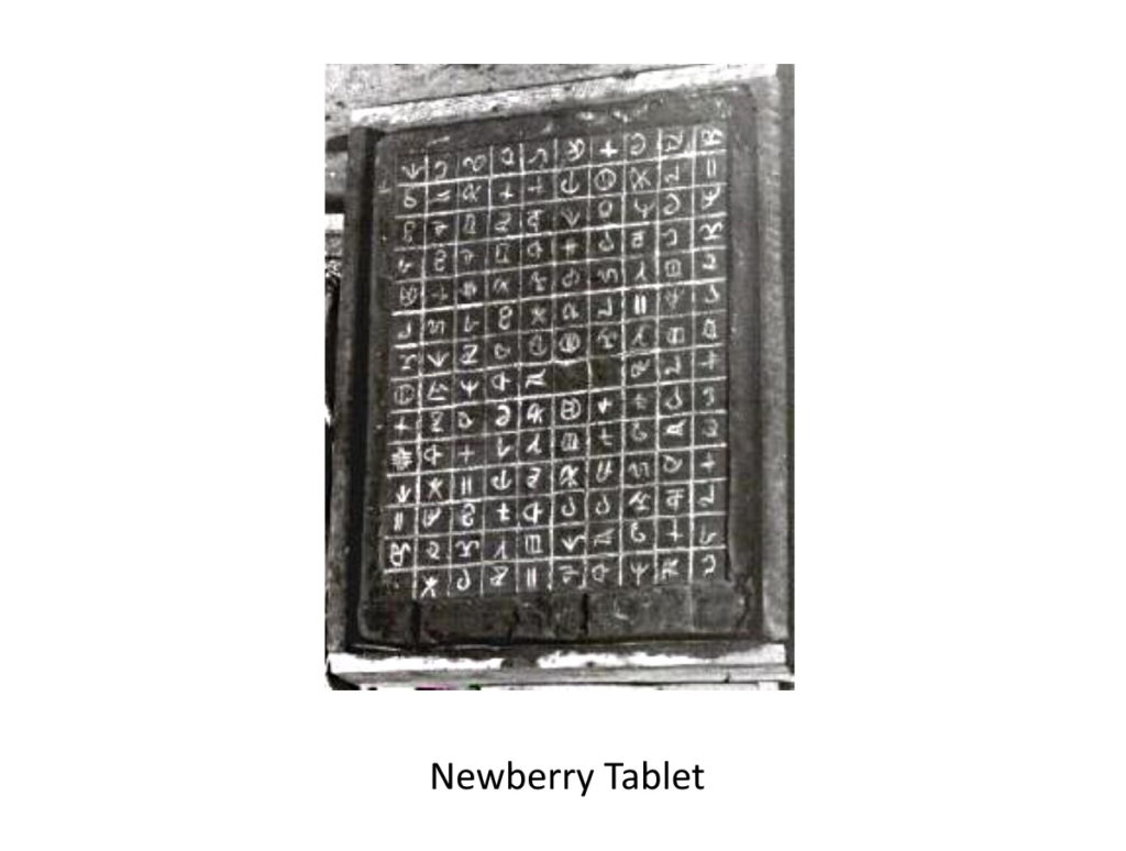Newberry Tablet