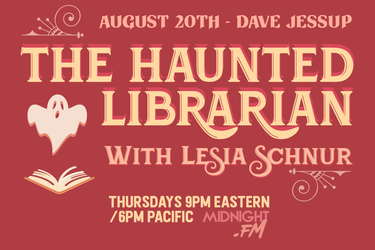 Guest Dave Jessup - The Haunted Librarian promo