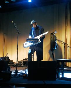 Pattern Shift (Ben Kamphaus) playing keytar